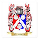 MacClintock Square Car Magnet 3