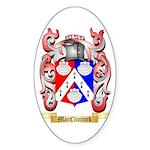MacClintock Sticker (Oval 50 pk)