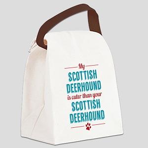 My Scottish Deerhound Canvas Lunch Bag