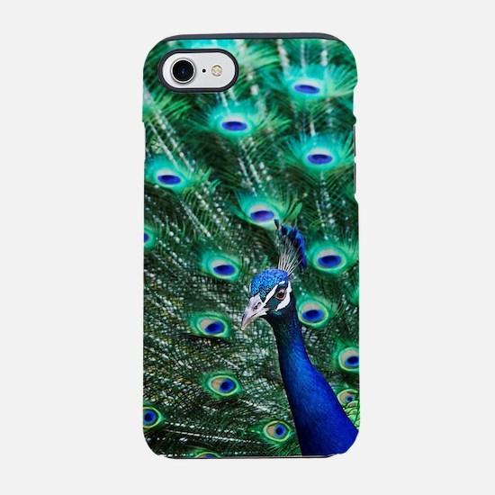 Peacock iPhone 7 Tough Case