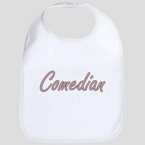 Comedian Artistic Job Design Bib