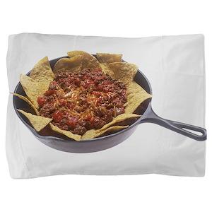 Chili Cheese Nachos Pillow Sham
