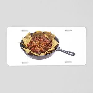 Chili Cheese Nachos Aluminum License Plate