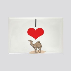 Camel Rectangle Magnet