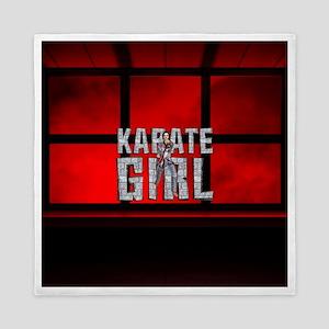 Karate Girl Queen Duvet
