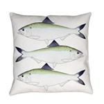 American Shad Everyday Pillow