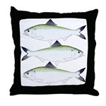 American Shad Throw Pillow