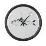 American Shad Large Wall Clock