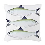 American Shad Woven Throw Pillow