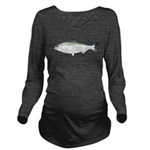 American Shad Long Sleeve Maternity T-Shirt