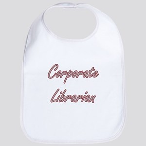 Corporate Librarian Artistic Job Design Bib