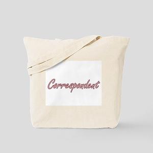 Correspondent Artistic Job Design Tote Bag