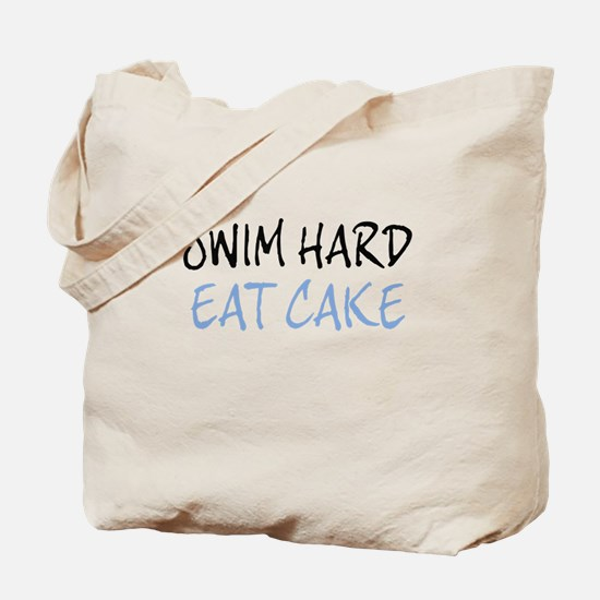 SWIM HARD Tote Bag