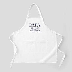 Papa Man Myth Legend Apron