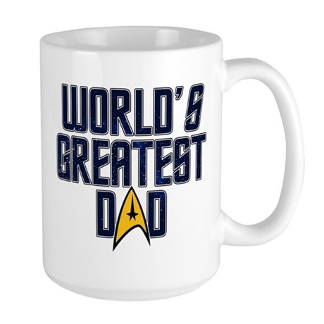Star Trek World's Greatest Dad Large Mug