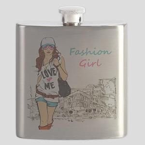 Fashion Girl Flask