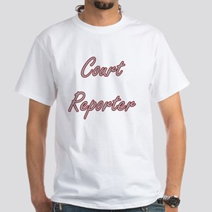 Court Reporter Artistic Job Design T-Shirt