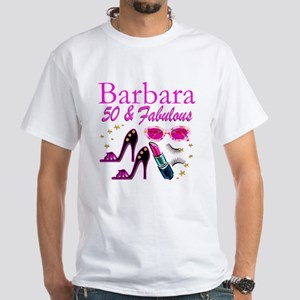 CHIC CUSTOM 50TH White T-Shirt