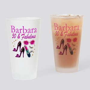 CHIC CUSTOM 50TH Drinking Glass