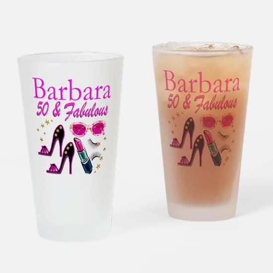 CHIC CUSTOM 50TH Drinking Glass