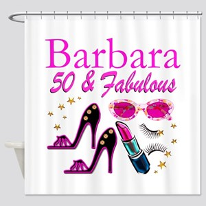 CHIC CUSTOM 50TH Shower Curtain