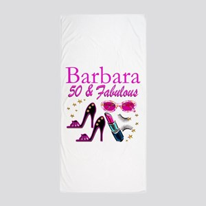 CHIC CUSTOM 50TH Beach Towel
