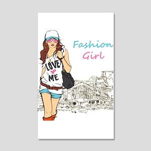 Fashion Girl Wall Decal
