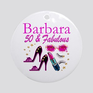 CHIC CUSTOM 50TH Ornament (Round)