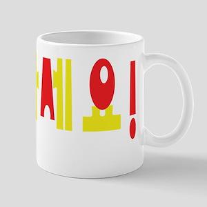 Annyeong Haseyo! Korean Hello! Hangul Language Mug