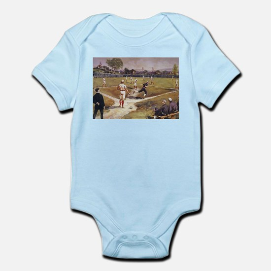 Vintage Sports Baseball Body Suit