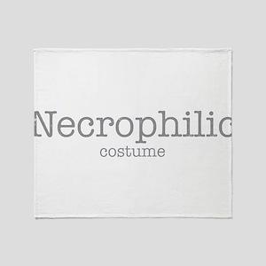 Necrophilic Costume Throw Blanket