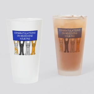 Congratulations on receiving your P Drinking Glass