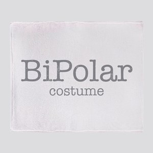 BiPolar Costume Throw Blanket