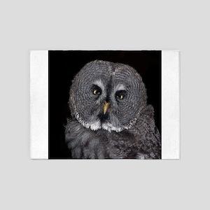 Owl_2015_0201 5'x7'Area Rug