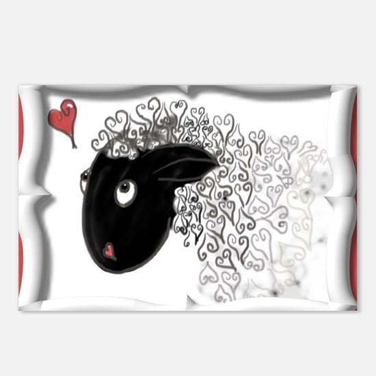 Will Ewe be Mine, Valenti Postcards (Package of 8)