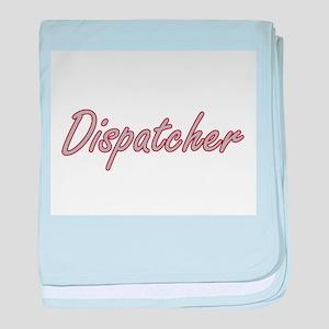 Dispatcher Artistic Job Design baby blanket