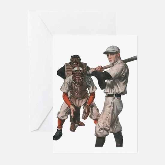 Vintage Sports Baseball Greeting Cards