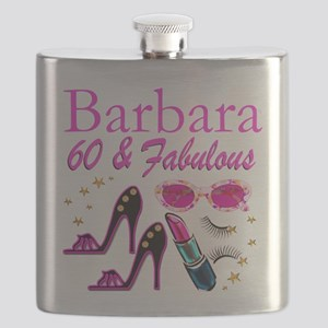 FUN FABULOUS 60TH Flask