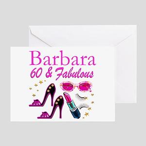 FUN FABULOUS 60TH Greeting Card