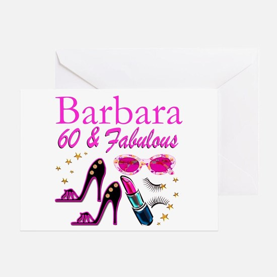 FUN FABULOUS 60TH Greeting Card