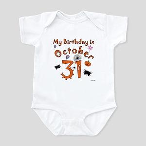 Halloween Birthday Infant Bodysuit