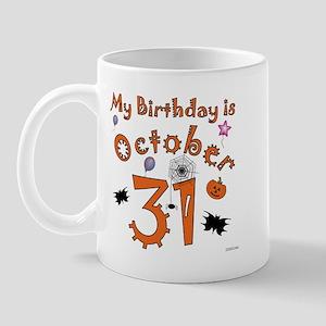 Halloween Birthday Mug
