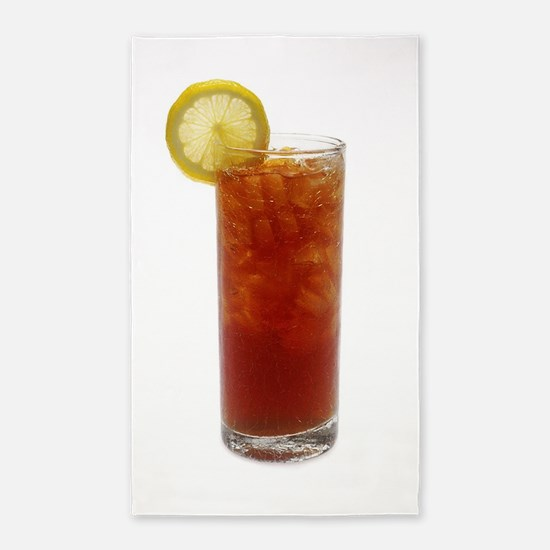 A Glass of Iced Tea Area Rug