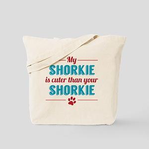 Cuter Shorkie Tote Bag
