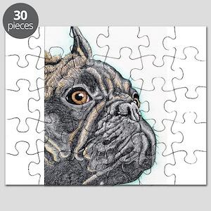 French Bulldog Brindle Puzzle