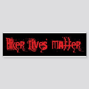 Biker Lives Matter Bumper Sticker