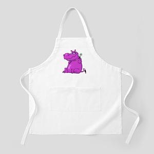 Purple Hippo Apron