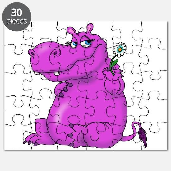 Purple Hippo Puzzle