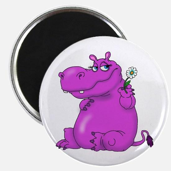 Purple Hippo Magnets
