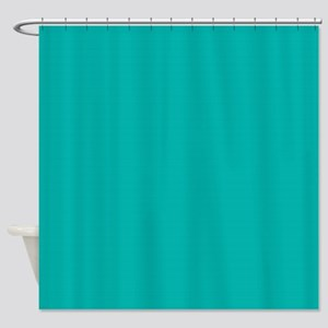 Sold Teal Shower Curtain